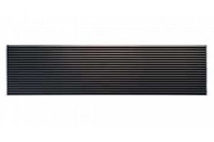 lg ptac architectural grille - bronze | dwg | air conditioning parts
